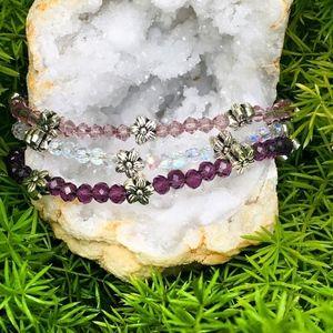 Flower Crystal Bracelets